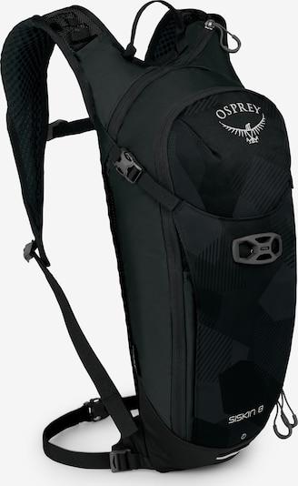 Osprey Sportrucksack 'Siskin 8' in schwarz / weiß, Produktansicht