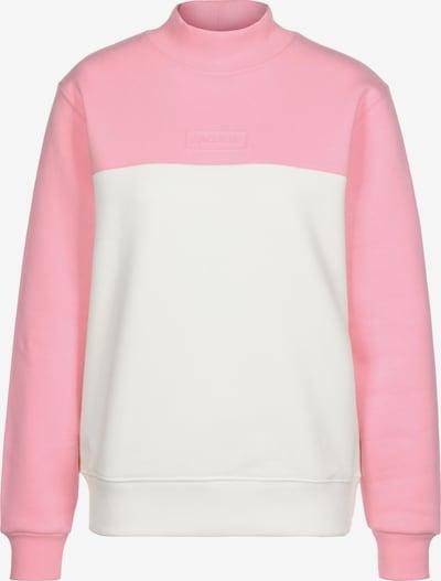 Lacoste LIVE Sweatshirt in rosa / weiß, Produktansicht