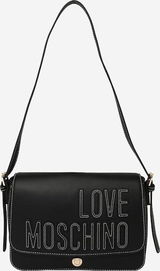 Borsa a tracolla Love Moschino di colore nero / bianco, Visualizzazione prodotti