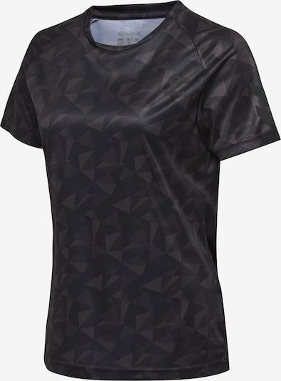 Hummel Jersey Woman S/S in grau / schwarz, Produktansicht