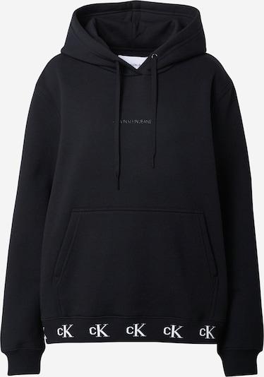 Calvin Klein Jeans Sweat-shirt en noir, Vue avec produit