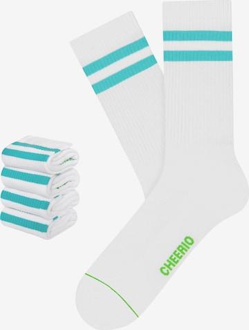 CHEERIO* Socks 'TENNIS TYPE 4P' in White