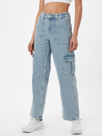 BDG Urban Outfitters Klapptaskutega teksapüksid sinine denim, Modellivaade