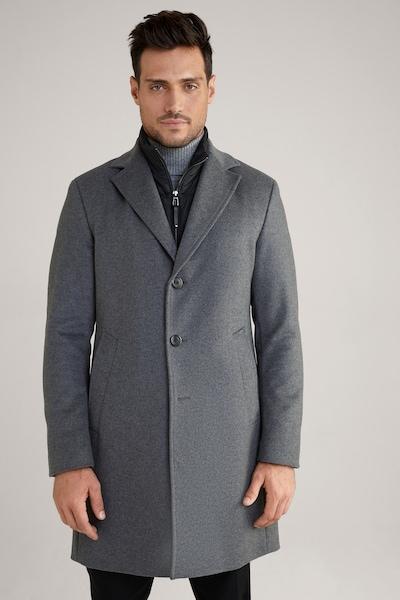 JOOP! Mantel 'Morris' in grau, Modelansicht