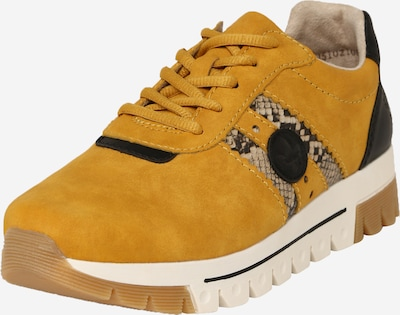 RIEKER Lace-up shoe in mustard, Item view