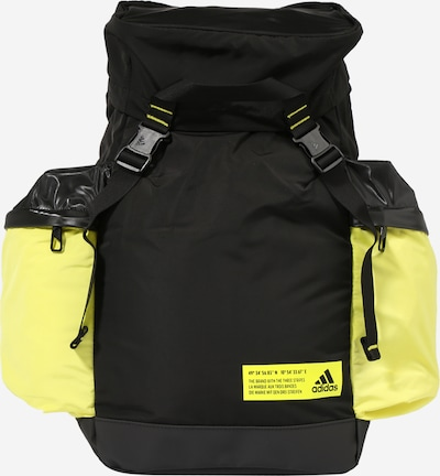ADIDAS PERFORMANCE Sports backpack in Neon yellow / Black, Item view