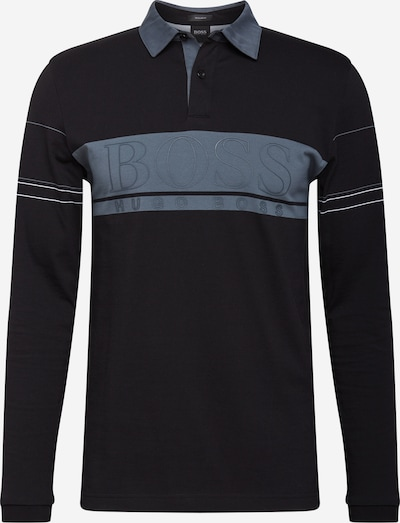 BOSS ATHLEISURE Shirt in Smoke blue / Black, Item view