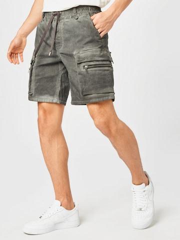tigha Klapptaskutega teksapüksid 'Bayar', värv hall