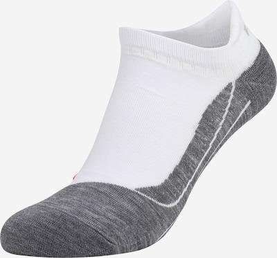 FALKE Sportsocken in graumeliert / weiß, Produktansicht