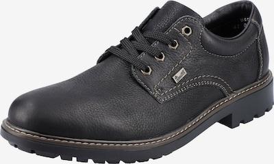RIEKER Cipele na vezanje u crna, Pregled proizvoda