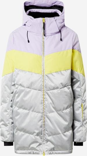 BRUNOTTI Snowjacket 'Okalani' in gelb / helllila / silber, Produktansicht