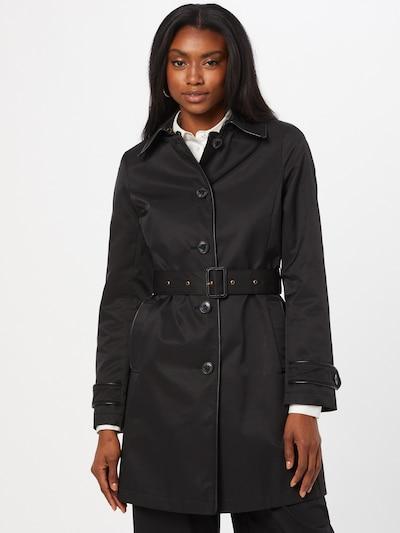 Palton de primăvară-toamnă Lauren Ralph Lauren pe negru, Vizualizare model