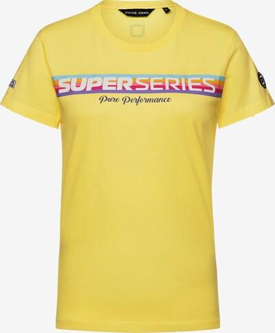 CODE-ZERO T-Shirt in hellblau / gelb / dunkellila / rosa / weiß, Produktansicht