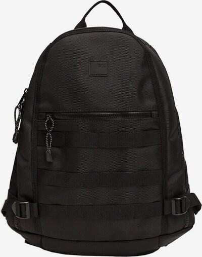 MANGO MAN Rucksack 'army' in schwarz, Produktansicht