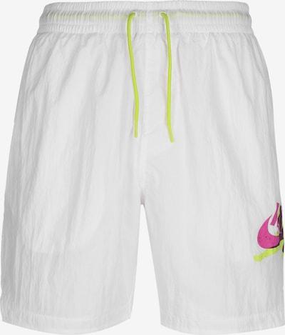 Jordan Sportzwembroek ' Jumpman Poolside ' in de kleur Wit, Productweergave