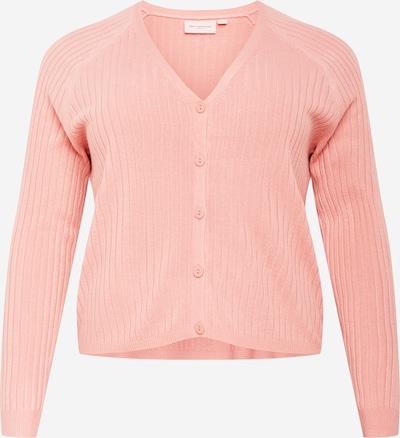 ONLY Carmakoma Gebreid vest 'Amalia' in de kleur Rosa, Productweergave