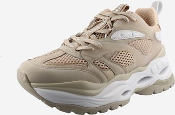 Sneaker low 'Triplet' de la BUFFALO pe bej