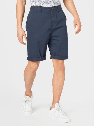 EDC BY ESPRIT Pantalon chino en bleu marine, Vue avec modèle
