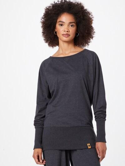 Fli Papigu Тениска 'Shed your Pain' в антрацитно черно: Изглед отпред