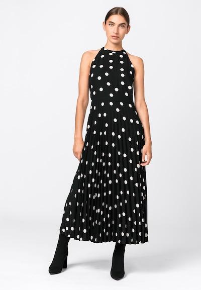 HALLHUBER Kleid in schwarz / weiß, Modelansicht