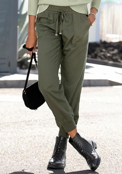 LASCANA Cargohose in khaki, Modelansicht