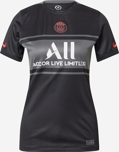 NIKE Trikot 'Paris Saint-Germain 2021/22' in grau / rot / schwarz / weiß, Produktansicht
