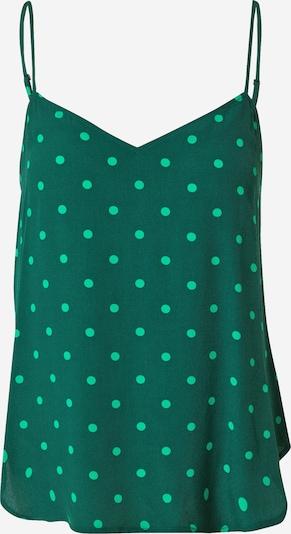 Palaidinė be rankovių iš GAP , spalva - žalia / pastelinė žalia: Vaizdas iš priekio
