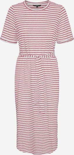 VERO MODA Kleid 'ALONA' in pink / weiß, Produktansicht