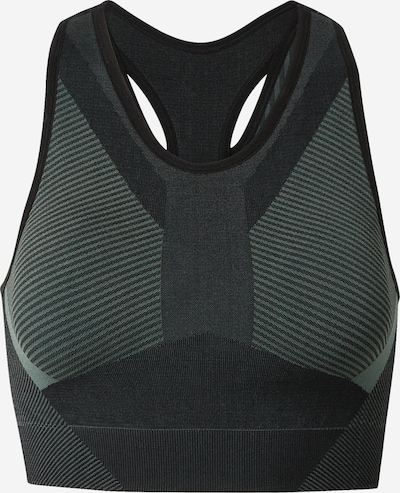 HKMX Sports bra 'The Motion' in grey / fir, Item view