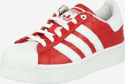 Sneaker bassa 'Superstar Bold' ADIDAS ORIGINALS di colore rosso / bianco, Visualizzazione prodotti