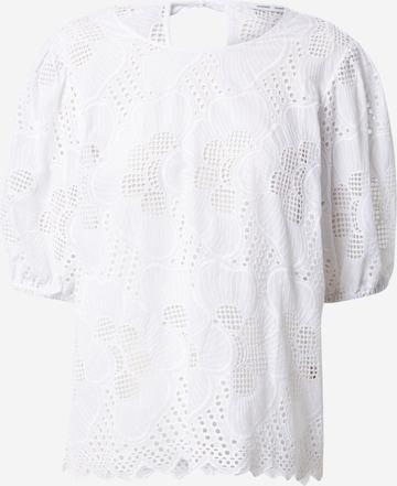 Samsoe Samsoe Bluse 'Juni' in Weiß