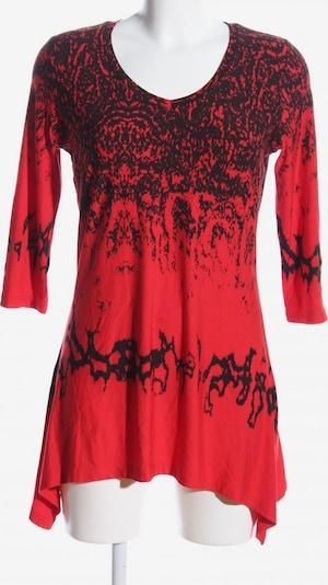 Travel Couture Longshirt in M in rot / schwarz, Produktansicht
