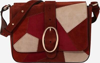Geantă de umăr 'IRIS' Vanessa Bruno pe bej / roșu / roșu cireș, Vizualizare produs