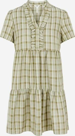 OBJECT Kleid in grün / weiß, Produktansicht