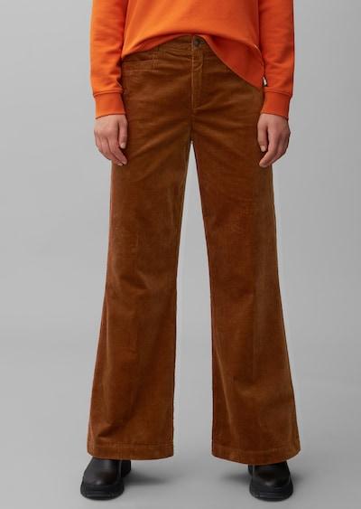 Marc O'Polo Broek in de kleur Bruin, Modelweergave