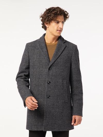 PIERRE CARDIN Winterjas in de kleur Camel / Donkerblauw / Donkergrijs, Modelweergave