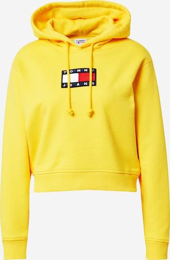 Tommy Jeans Sweatshirt in de kleur Navy / Geel / Rood / Wit, Productweergave