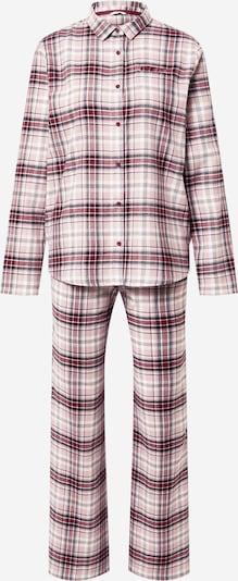 ESPRIT Pižama | roza / rdeča / črna barva, Prikaz izdelka