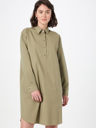 Rochie tip bluză EDC BY ESPRIT pe kaki, Vizualizare model