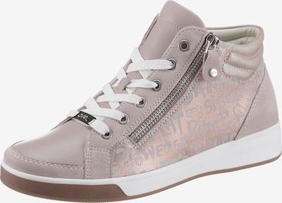 ARA Sneaker 'Rom' in altrosa / silber, Produktansicht