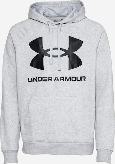 UNDER ARMOUR Sportiska tipa džemperis, krāsa - raibi pelēks / melns, Preces skats