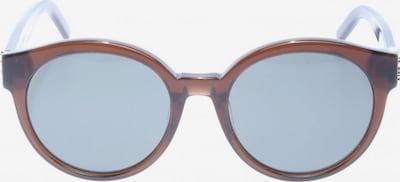 Saint Laurent runde Sonnenbrille in One Size in braun, Produktansicht