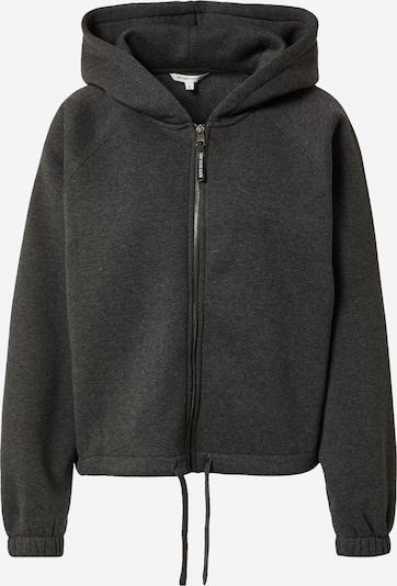 TOM TAILOR DENIM Zip-Up Hoodie in Dark grey, Item view