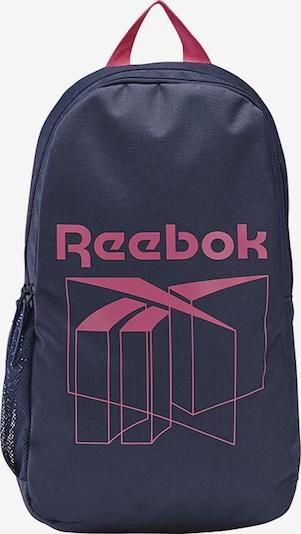 Reebok Classic Rucksack in blau / pink, Produktansicht
