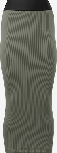 Reebok Classics Skirt 'RBK CARDI RIB SKIRT' in Khaki / Black, Item view