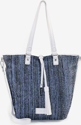 TAMARIS Tasche in hellblau / dunkelblau / weiß, Produktansicht