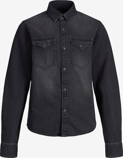 Jack & Jones Junior Overhemd 'Sheridan' in de kleur Grey denim, Productweergave