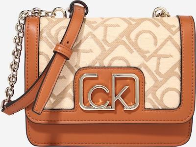 Borsa a tracolla Calvin Klein di colore cappuccino / marrone chiaro, Visualizzazione prodotti
