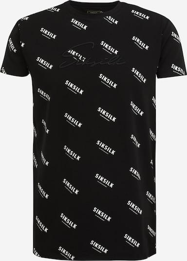 SikSilk T-shirt i svart / vit, Produktvy