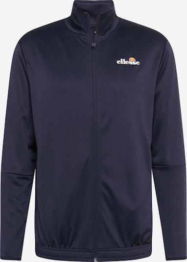 ELLESSE Sportsweatvest 'Marzo Track' in de kleur Navy, Productweergave